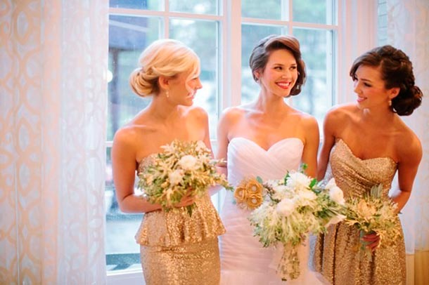 Bridesmaids makeup and hair