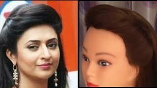 Easy And Simple Puff Hairstyle Inspired By Divyanka Tripathi Easy